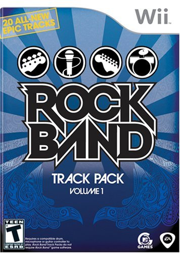 Wii Rock Band Track Pack Vol. 1