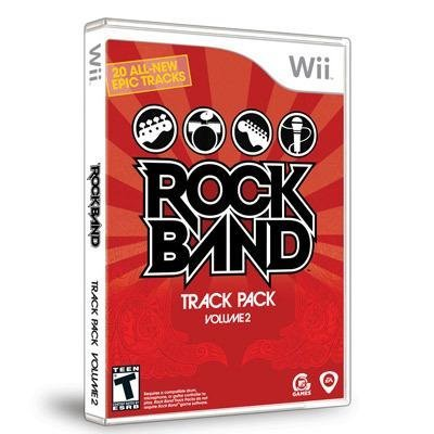 Wii Rock Band Track Pack Vol. 2