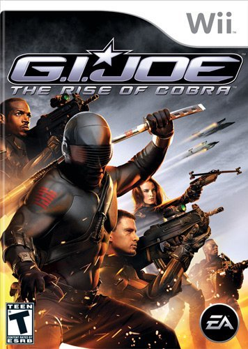 Wii G.I. Joe Rise Of The Cobra