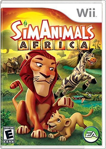 Wii Sim Animal Africa Electronic Arts E