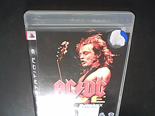 Ps3 X360 Ac Dc Live Rock Band Track Pack
