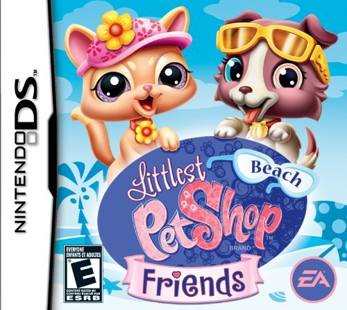 Nintendo Ds Littlest Pet Shop Beach Friend Electronic Arts