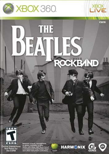 Xbox 360 Rock Band The Beatles Electronic Arts T