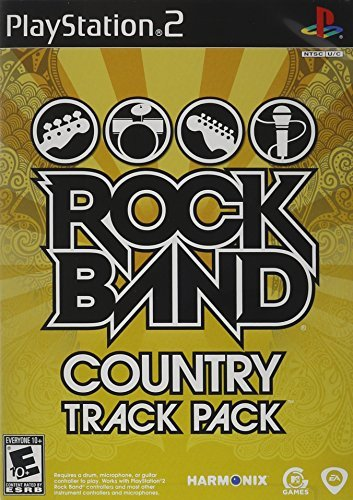 Ps2 Rock Band Country Track Pack