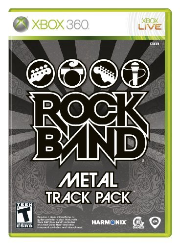 Xbox 360 Rock Band Metal Track Pack