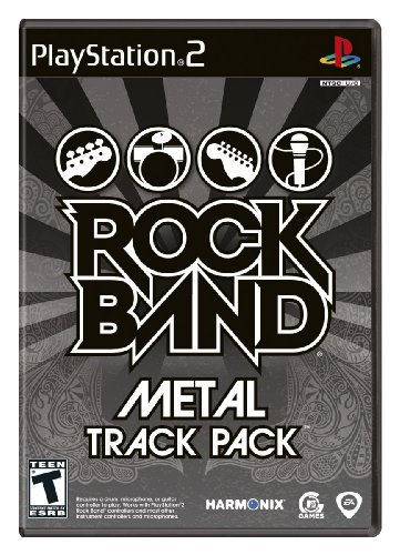 Ps2 Rock Band Metal Track Pack