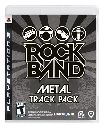 Ps3 Rock Band Metal Track Pack