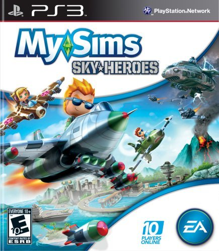 Ps3 My Sims Sky Heroes