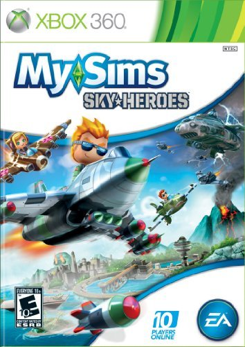 Xbox 360 My Sims Sky Heroes