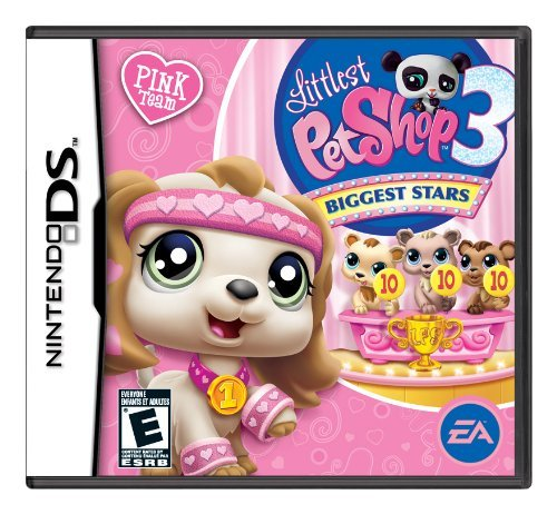 Ninds Littlest Pet Shop 3 Biggest Stars Pink Team