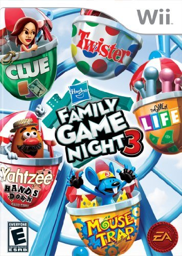 Wii Hasbro Family Game Night 3