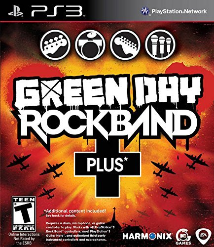 Ps3 Green Day Rock Band Plus Includes Extra Songs And Import Disc