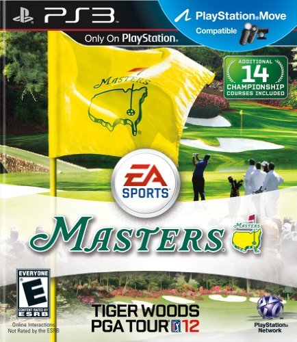 Ps3 Tiger Woods Pga Tour 12 The Masters