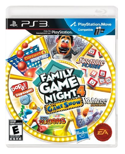Ps3 Hasbro Family Game 4 Electronic Arts E