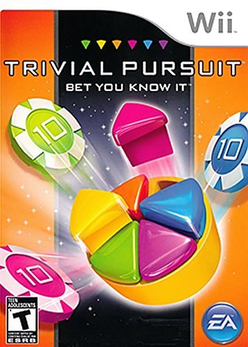 Wii Trivial Pursuit Bet You Kn Electronic Arts E