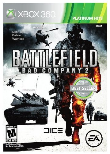 Xbox 360 Battlefield Bad Company 2 Plat Electronic Arts M