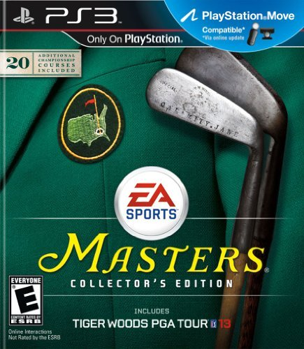 Ps3 Tiger Woods 13 Masters Coll. E Electronic Arts E