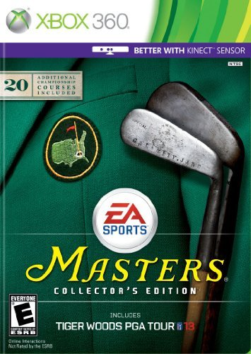 Xbox 360 Tiger Woods Pga Tour 13 The Master's Ce