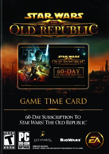 Pc Star Wars The Old Republic 60 Day Time Card