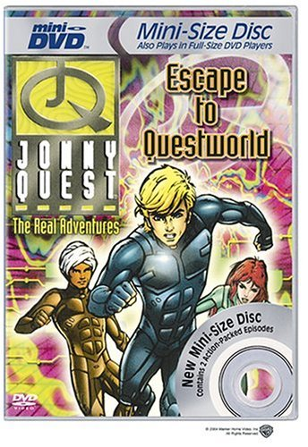 Jonny Quest Escape To Questworld Clr Mini DVD Nr
