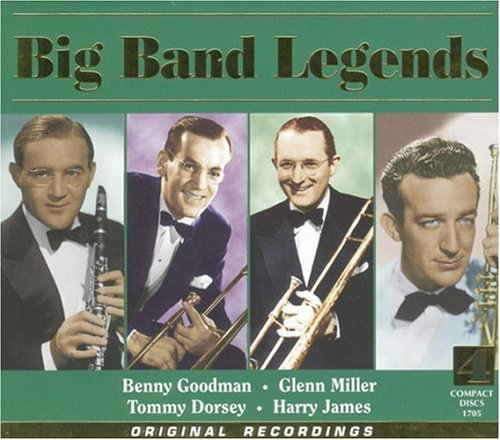 Big Band Legends Big Band Legends Remastered 4 CD Set