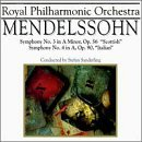 F. Medelssohn Sym 3 4 Sanderling Royal Phil Orch