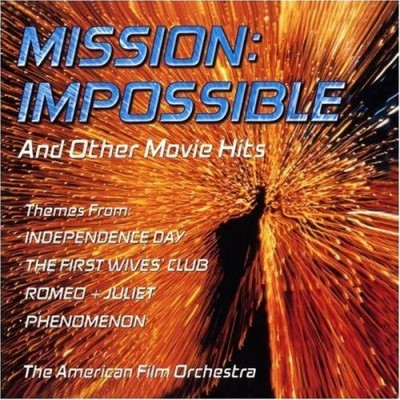 Mission Impossible & Other Mov Soundtrack Twister Space Jam Phenomenon Performed By American Film Orc
