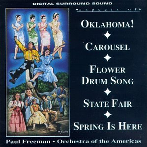 Aspects Of Broadway Oklahoma Carousel Flower Drum Freeman Orch Of The Americas