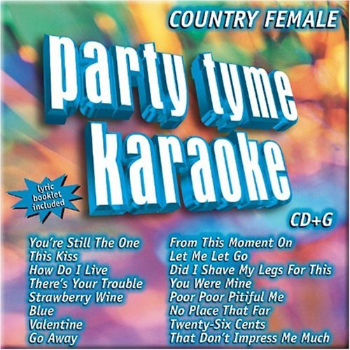 Party Tyme Karaoke Country Female Karaoke Incl. Cdg 16 Song