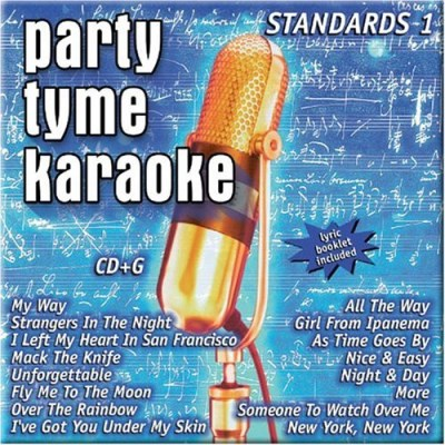 Party Tyme Karaoke Vol. 1 Standards Karaoke Incl. Cdg 16 Song
