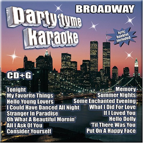 Party Tyme Karaoke Broadway Karaoke Incl. Cdg 16 Song