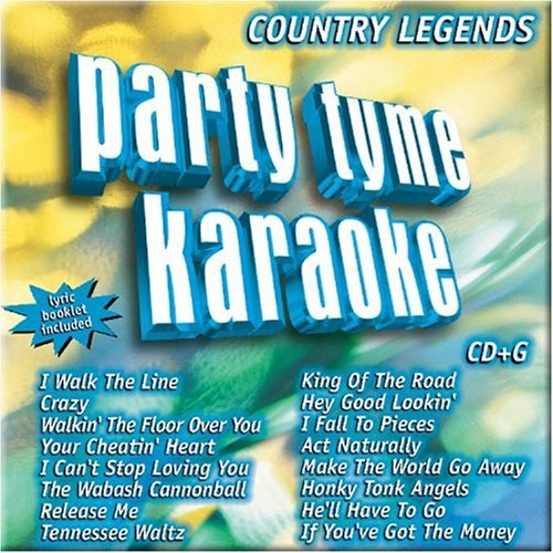 Party Tyme Karaoke Vol. 1 Country Legends Karaoke Incl. Cdg 16 Song