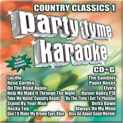 Party Tyme Karaoke Vol. 1 Country Classics Karaoke Incl. Cdg 16 Song