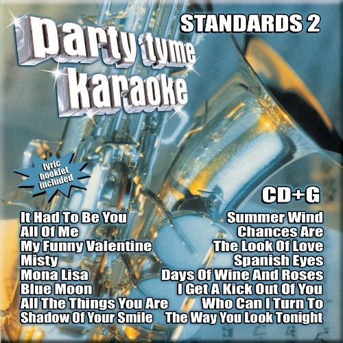 Party Tyme Karaoke Vol. 2 Standards Karaoke Incl. Cdg 8+8 Song