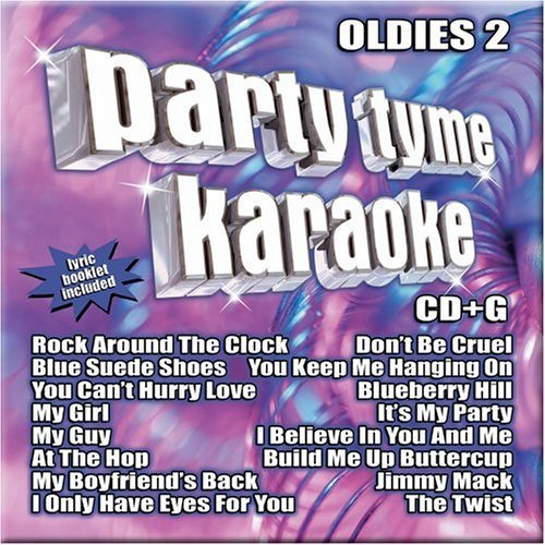 Party Tyme Karaoke Vol. 2 Oldies Karaoke Incl. Cdg 8+8 Song