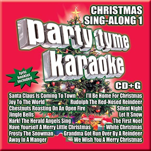 Party Tyme Karaoke Vol. 1 Christmas Sing Along Karaoke Incl. Cdg 16 Song