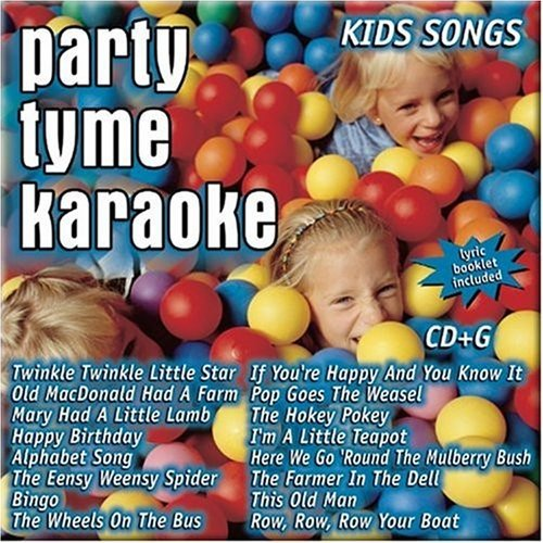 Party Tyme Karaoke Kids Songs Karaoke Incl. Cdg 16 Song