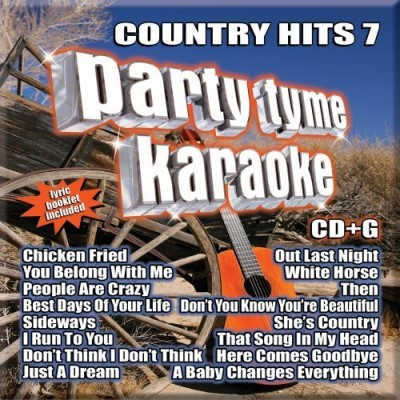 Party Tyme Karaoke Vol. 7 Country Hits Karaoke Incl. Cdg 16 Song