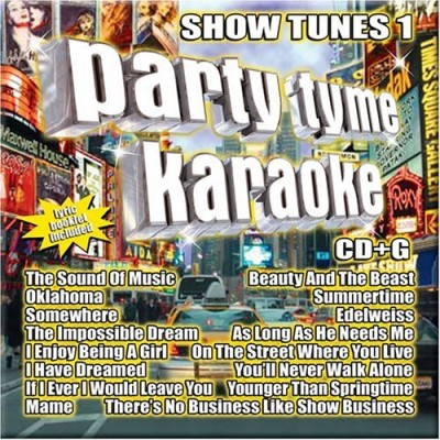 Party Tyme Karaoke Vol. 1 Show Tunes Karaoke Incl. Cdg 16 Song