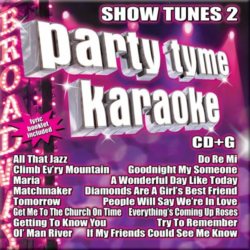 Party Tyme Karaoke Vol. 2 Show Tunes Karaoke Incl. Cdg 16 Song