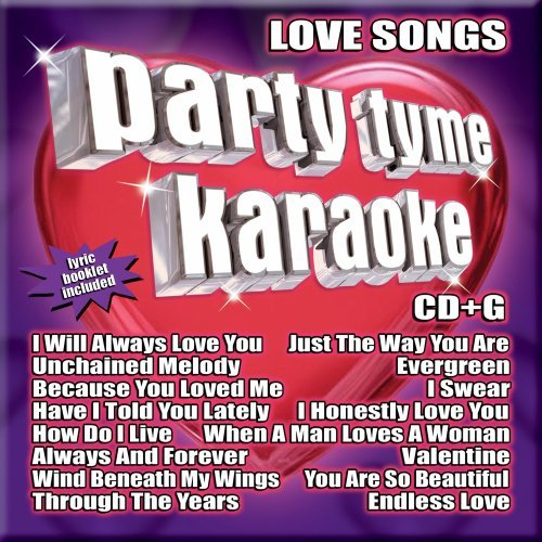 Party Tyme Karaoke Vol. 1 Love Songs Karaoke Incl. Cdg 16 Song