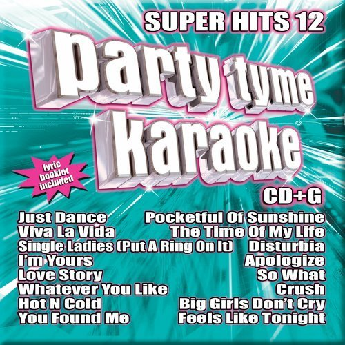 Party Tyme Karaoke Vol. 12 Super Hits Karaoke Incl. Cdg 16 Song