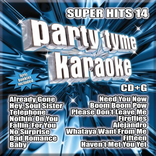 Party Tyme Karaoke Vol. 14 Super Hits Incl. Cdg