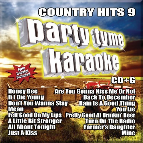 Party Tyme Karaoke Vol. 9 Country Hits Incl. Cdg