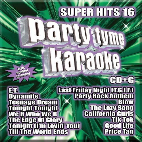 Party Tyme Karaoke Vol. 16 Super Hits Incl. Cdg