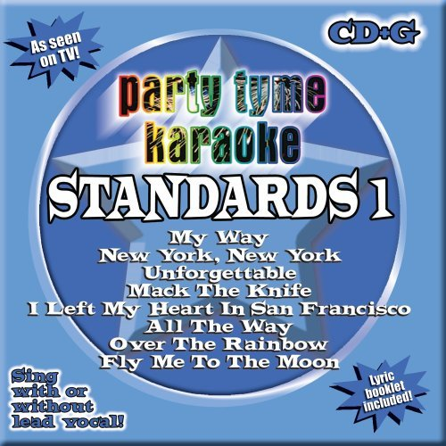 Party Tyme Karaoke Vol. 1 Standards Karaoke Incl. Cdg 8+8 Song