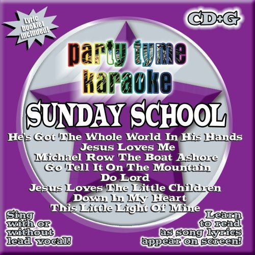 Party Tyme Karaoke Sunday School Karaoke Incl. Cdg 8+8 Song