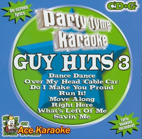 Party Tyme Karaoke Vol. 3 Guy Hits Karaoke Incl. Cdg 8+8 Song