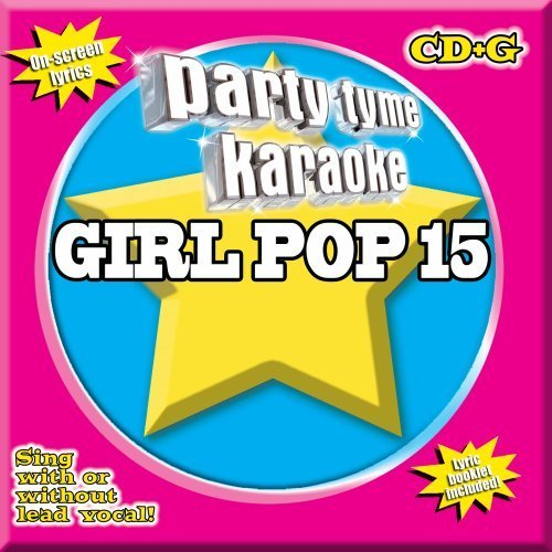 Party Tyme Karaoke Vol. 15 Girl Pop Karaoke Incl. Cdg