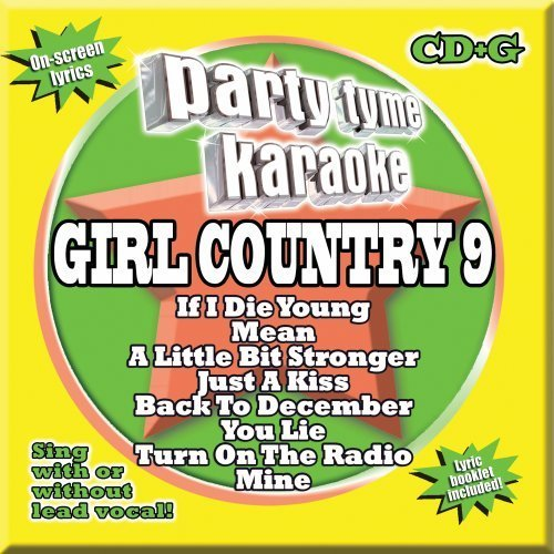 Party Tyme Karaoke Vol. 9 Girl Country Incl. Cdg